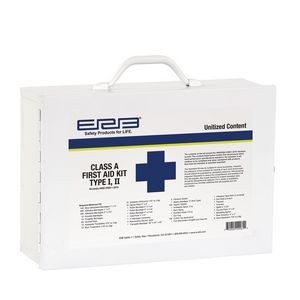 Class A Unitized Metal First Aid Kit