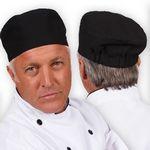 Custom C23 Signature Black Beanie Chef Hat