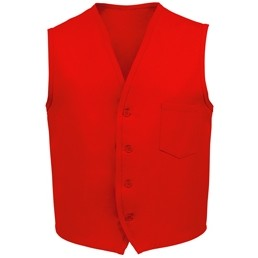 Fame® V40 Most Popular Signature Red Unisex Vest (Small)