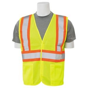 Aware Wear® S382 Aware Wear ANSI Class 2 Mesh Safety Vest w/Contrasting Trim