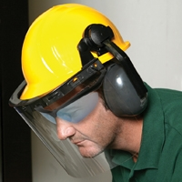 E14 Face Shield/ Ear Muff Kit