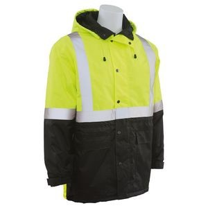 W144 Aware Wear® ANSI Class 2 Hi Viz Lime Parka (Medium)