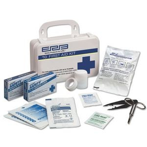 ANSI 10 Person Plastic First Aid Kit