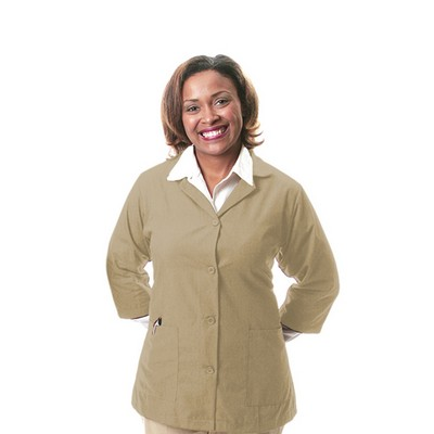 K72 Tan Female Poplin Smock (Small)