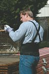 Custom Economy Back Support Brace with Suspenders (Small 28