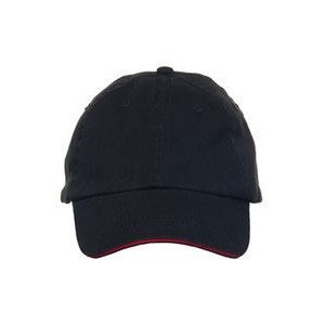Enza Garment Washed Twill Sandwich Cap