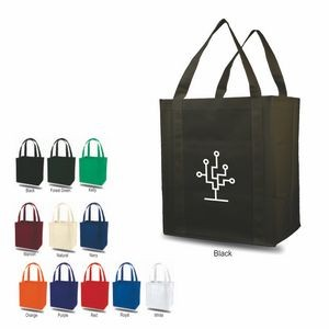 Q-Tees Tote Bag w/ Plastic Bottom
