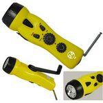 Custom 4-in-1 Emergency Dynamo Radio/Flashlight