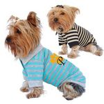 Custom Stripe Dog Polo Shirt
