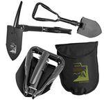 Custom Mini 2-in-1 Tri-Fold Shovel & Pick