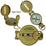 Custom Metal Lensatic Compass