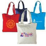 Custom Vertical Canvas Tote Bag (14