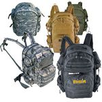 Custom Tactical Heavy Duty Expandable Backpack MOLLE Straps