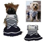 Custom Girl Style Dog Sailor Shirt