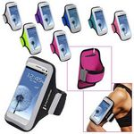 Custom Universal Sport Armband with Medium Size Cellphone Pouch