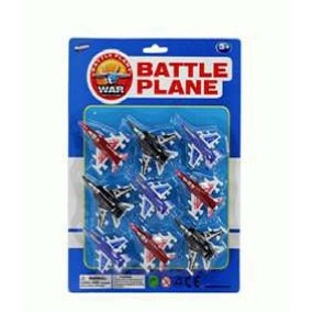 "2.75"" F/W Battle Plane (9 Piece)"