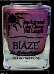 Custom Blaze Summer Bright Color Change Nail Polish - Tahitian Skies/ Purple Rain