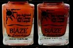 Custom Blaze Summer Bright Color Change Nail Polish - Kicking Coral to Crimson Red