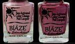 Custom Blaze Summer Bright Color Change Nail Polish - Cotton Candy/Razzle Rasberry