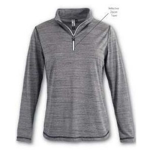 Women's Aflex Quarter Zip Top w/Reflective Taping