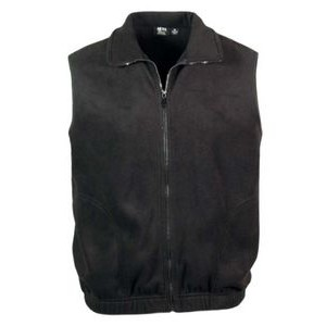 Men's Full Zip Micro Fleece Vest