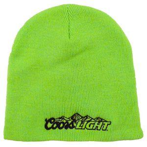 Short Knit Beanie Hat