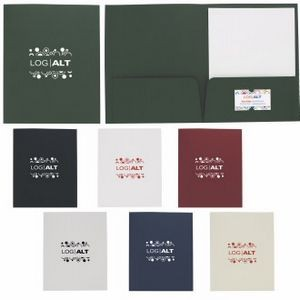 Good Value® Linen Paper Folder