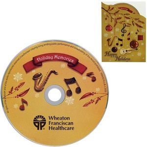 "Greeting Card with ""Holiday Memory"" CD"