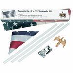 Custom Complete Flag Pole Kit