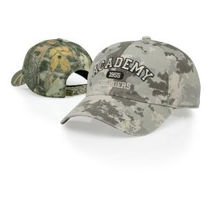 Relaxed Unstructured Twill Camo Adjustable Cap