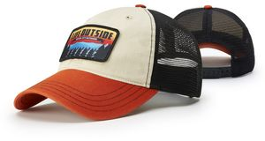 Relaxed Unstructured Lifestyle Garment Washed Trucker Cap