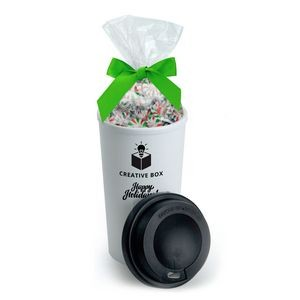 16 Oz. To-Go Coffee Tumbler w/Candy Bag