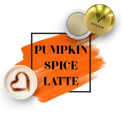 Metallic Lip Balm Pumpkin Spice Latte