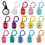 Custom Silicone Carabiner Rubber Lip Balm Ball
