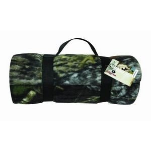 Mossy Oak Winter Break-Up® Deluxe Fleece Blanket