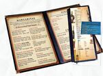 Custom In-Stock Removable Heat Sealed Add-A-Page for Menu Specials (4 Pocket x14
