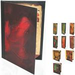 Custom Double Panel Copper Metal Front Menu Cover (Holds TWO 4 1/4