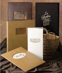 Custom Oyster Bay Single Panel 1 View Ostrich Menu Cover (5 1/2