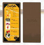 Custom Single Panel Picture Corner Board Menu Holder (11
