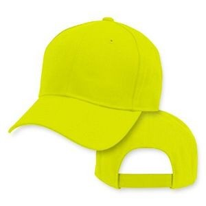 Big Size Neon Safety Yellow Baseball Cap 2XL - 4XL