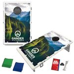 Custom The Official Baggo Bean Bag Toss Game w/ 2 Portable Boards & 8 Bags - 4 Color