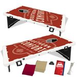 Custom The Official Baggo Bean Bag Toss Game w/ 2 Portable Boards & 8 Bags - 2 Color