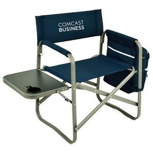 Extra Wide Directors Chair -with Side Table & Cooler Organizer