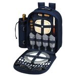 Custom Picnic Backpack for 4 with Cooler