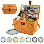 Custom Frisco Picnic Basket For Two