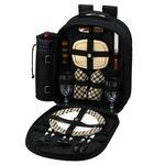 Custom London Picnic Backpack for Two