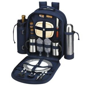 Picnic Coffee Backpack for 2 with Cooler