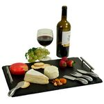 Custom Sardo Deluxe Slate Cheese Board with Tools