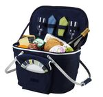 Custom Collapsible Insulated Picnic Basket for Two