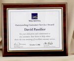Custom Kwik-Plak Certificate Frame Series (11